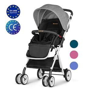 Besrey collapsible pushchair top rated baby strollers