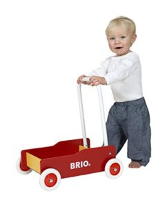 Brio walker baby walkers with rubber wheels