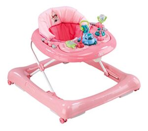 Plastimyt Minnie baby walker sit to stand